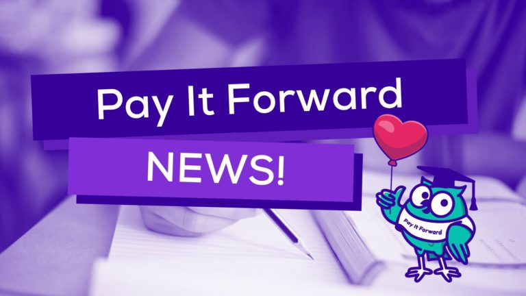 Good News About Companies Supporting Students' Education through SchoolOnline.co.uk's Pay It Forward Campaign