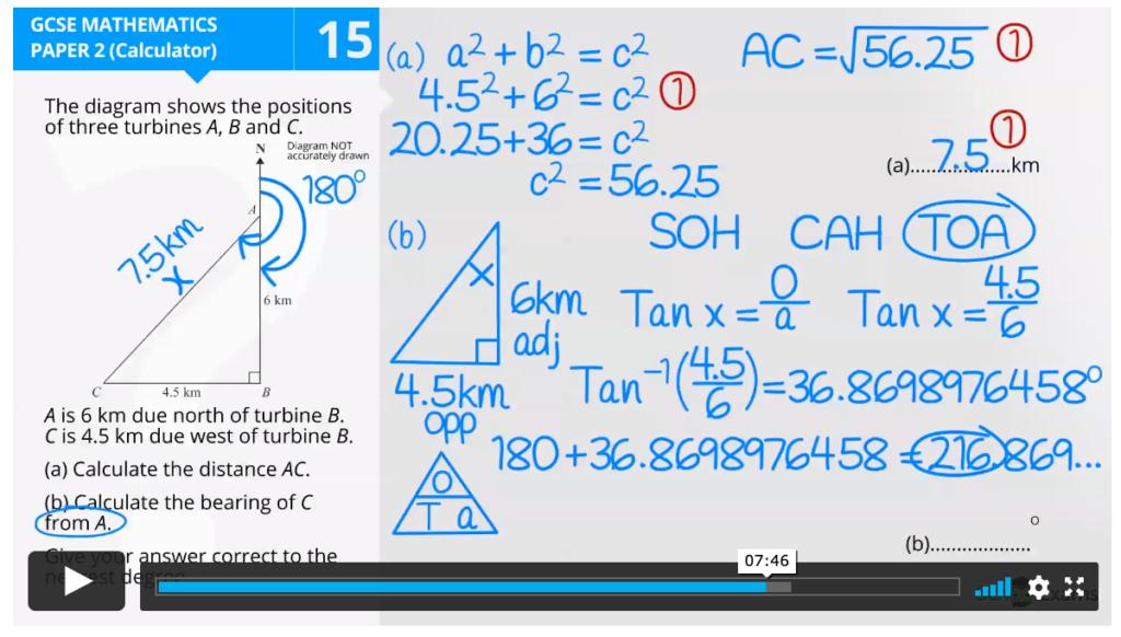 GCSE Higher Maths Tutorial Videos 2 1024x582