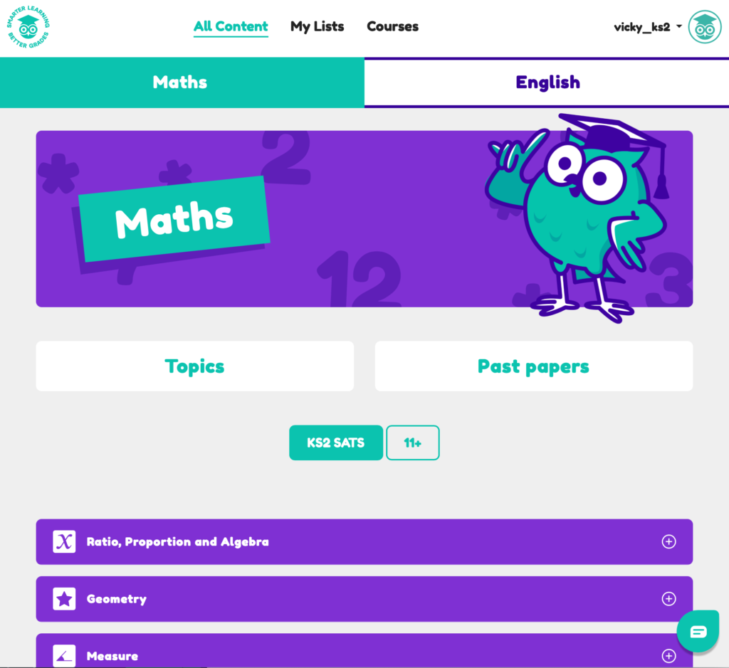 Maths KS2 Online Tuition Screen 1024x939
