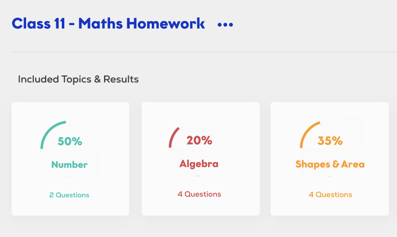screenshot of SchoolOnline digital tuition platform